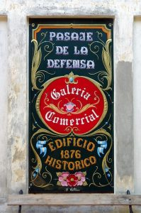 Historic building in San Telmo Buenos Aires