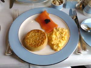 Brunch on board the British Pullman