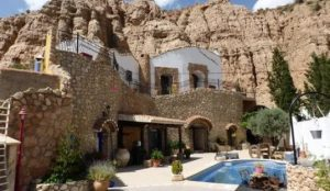 Luxury cave house in Guadix, Spain