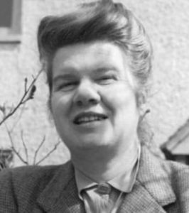 Portrait of British writer Honor Tracy