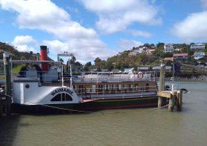 Waimarie steamer on the Whanganui river, New Zealand