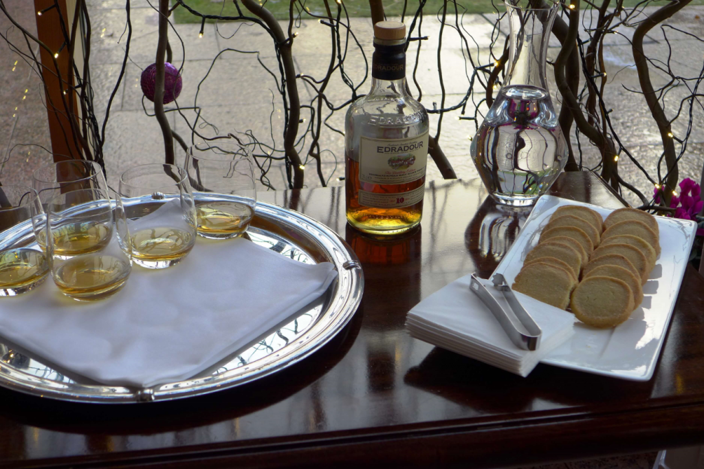 Scottish whisky and shortbread