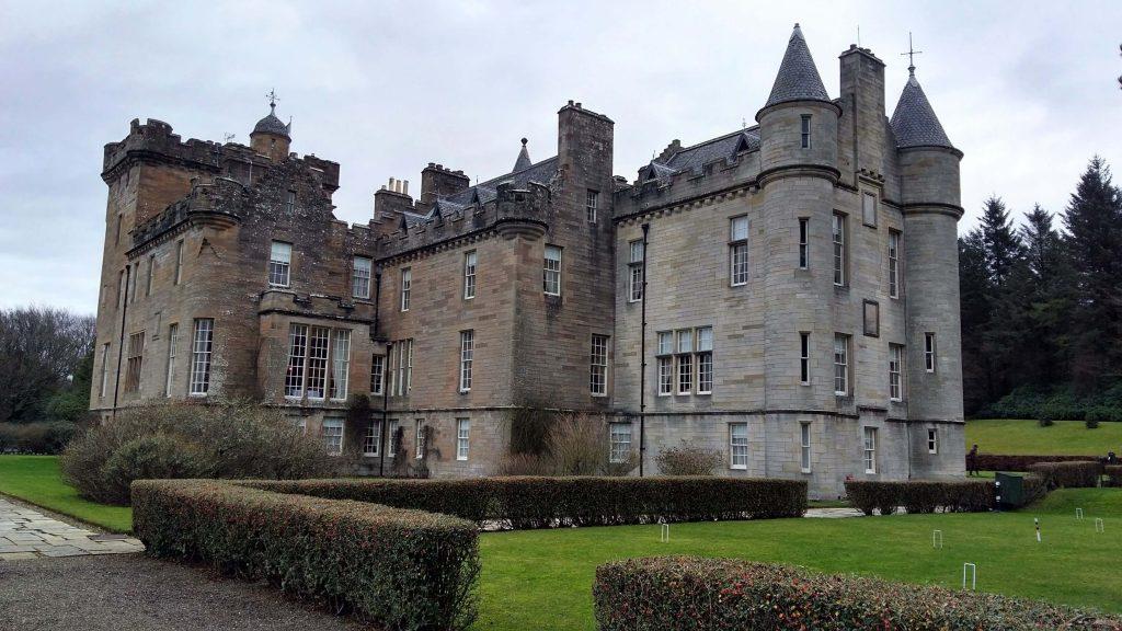 Glenapp Castle Ayrshire Scotland - great place for a Hogmanay break at a Scottish castle