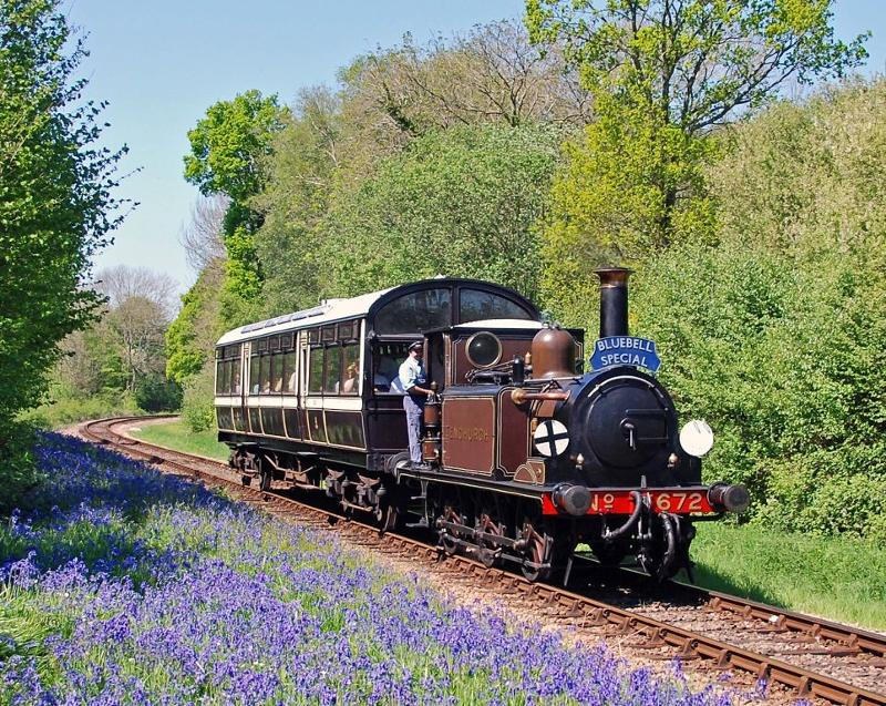 Bluebell Railway, Sussex England
