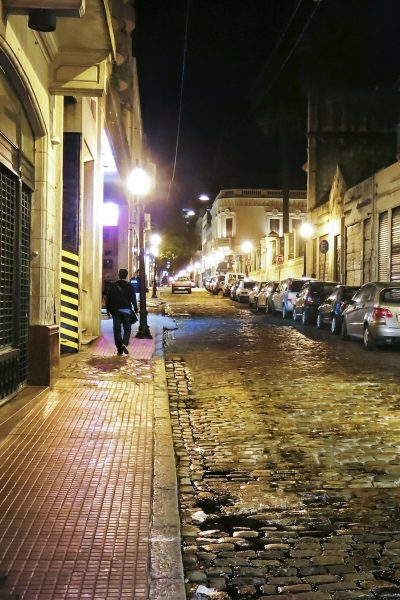 San Telmo neighbourhood at night, Buenos Aires