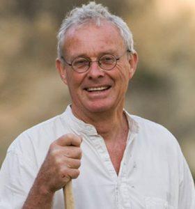 Portrait of British writer Chris Stewart