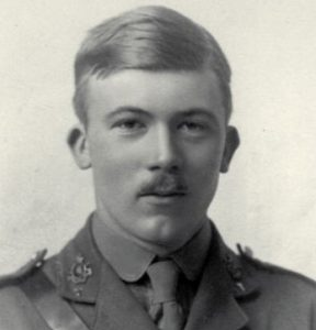 Portrait of British author Gerald Brenan