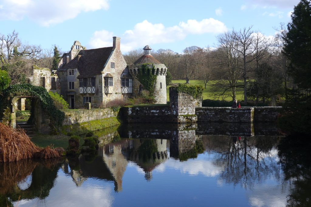 Igtham Mote castle and moat, England
