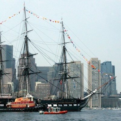 USS Constitution at Boston