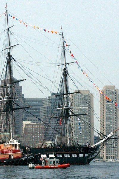 USS Constitution at Boston
