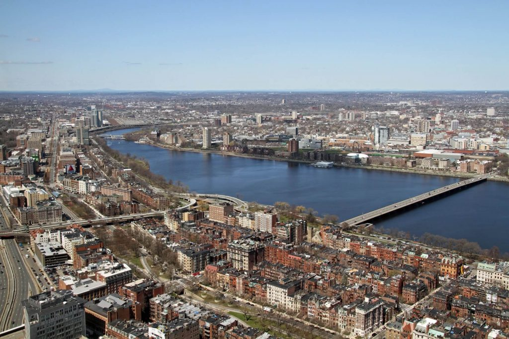 Boston, Cambridge and the Charles River, USA