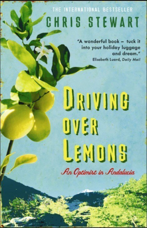 Front cover of Driving over lemons by Chris Stewart