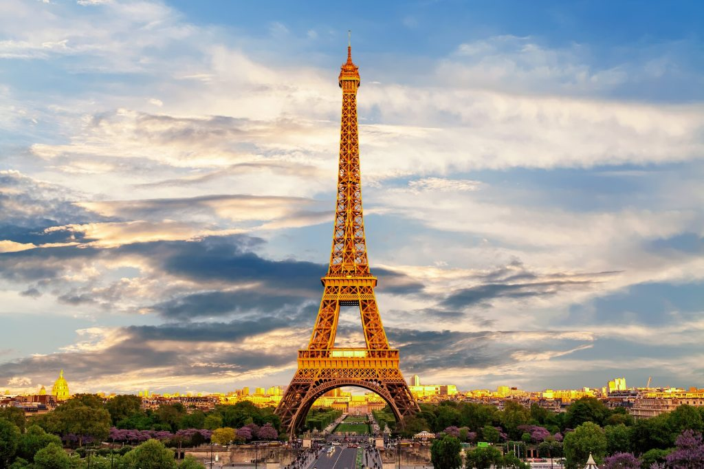 Eiffel Tower Paris - one of the most iconic of city towers
