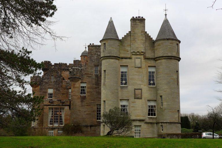 A Hogmanay break at a Scottish castle