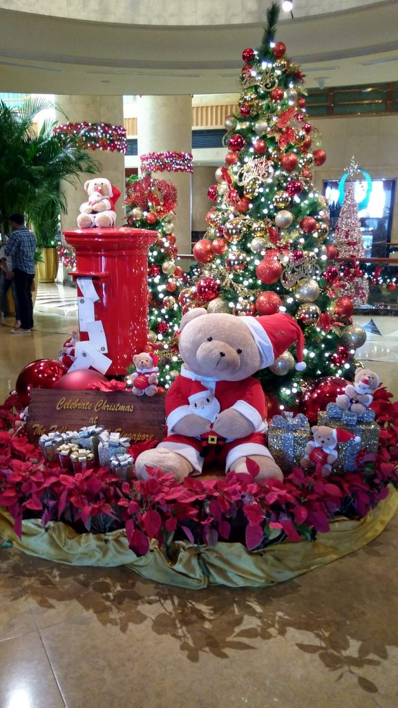 Christmas at the Fullerton Singapore