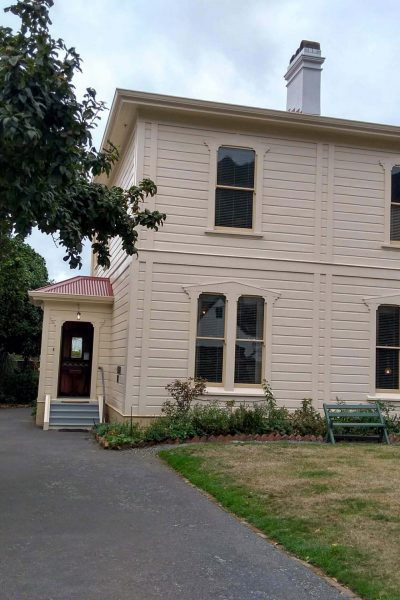 Birthplace of Katherine Mansfield in Wellington New Zealand