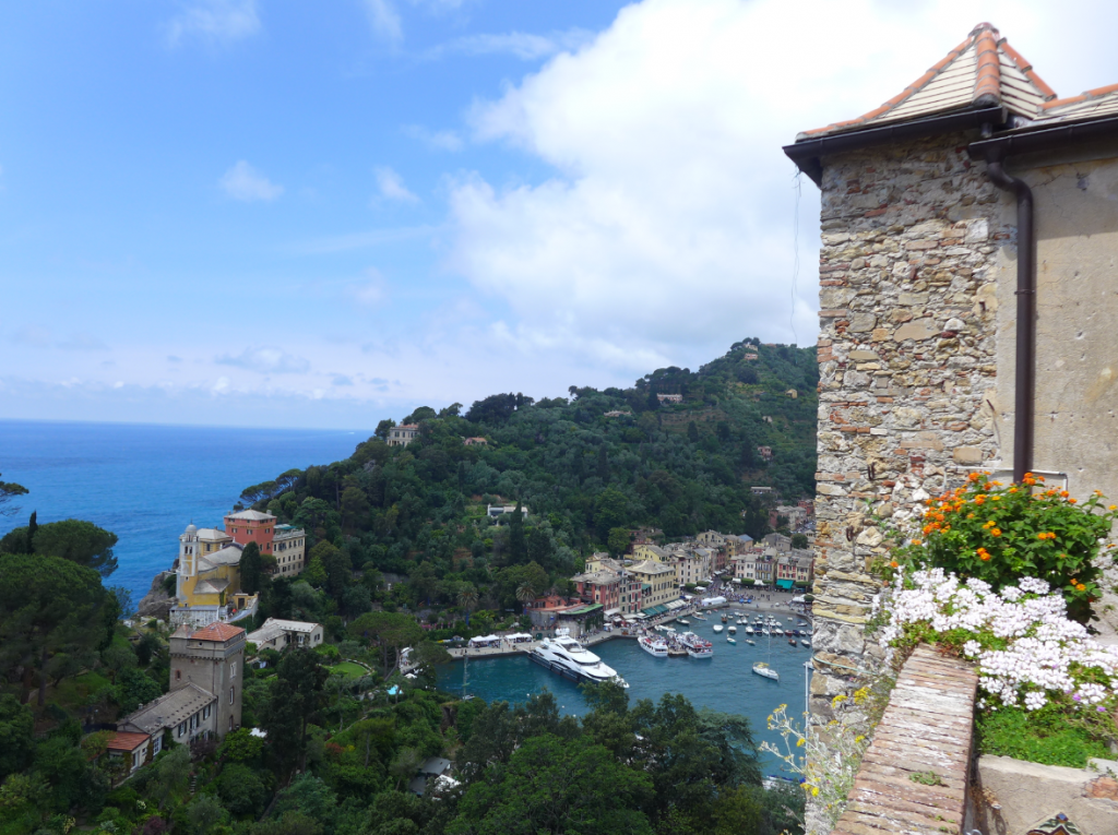 Portofino from Castello Brown, Italy - the sort of place you dream of when you can't travel