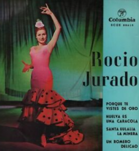 Spanish singer Rocio Jurado