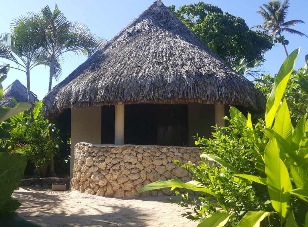 Garden fare at Breakas resort