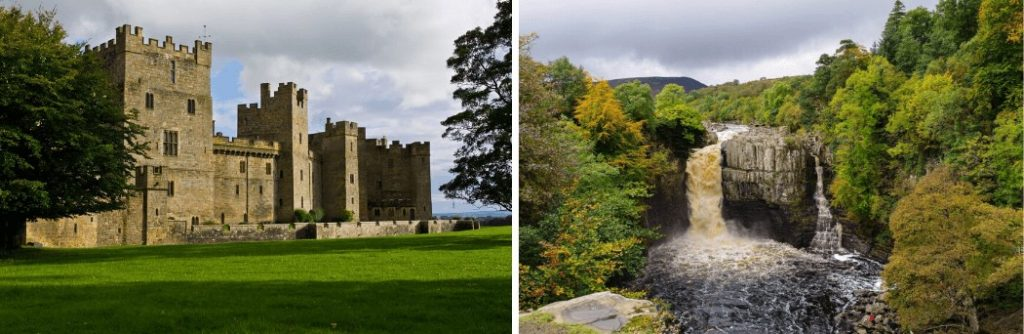 Raby Castle and High Force