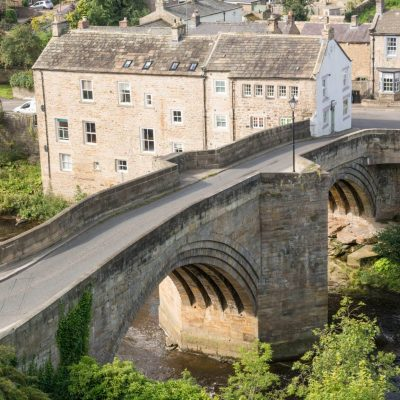 Barnard Castle town and old bridge