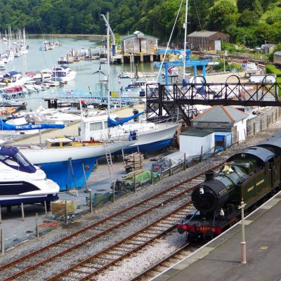 Dartmouth Steam Railway at Kingswear, Devon