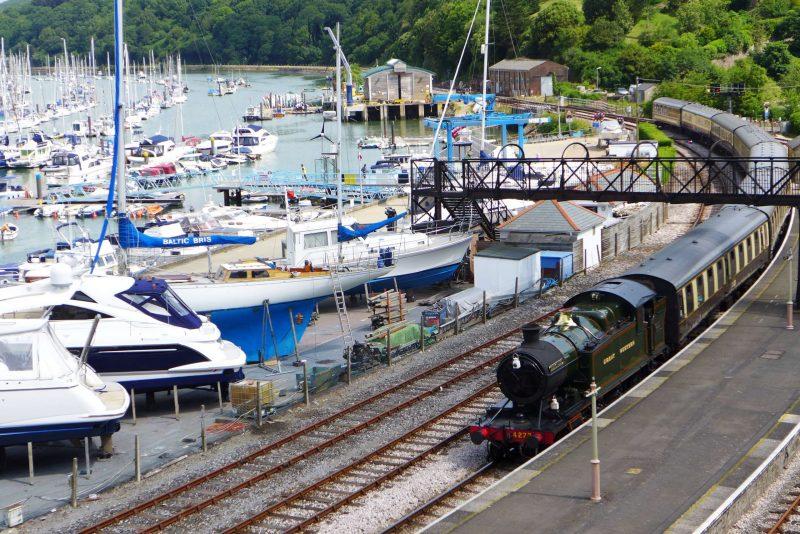 Dartmouth Steam Railway at Kingswear, Devon