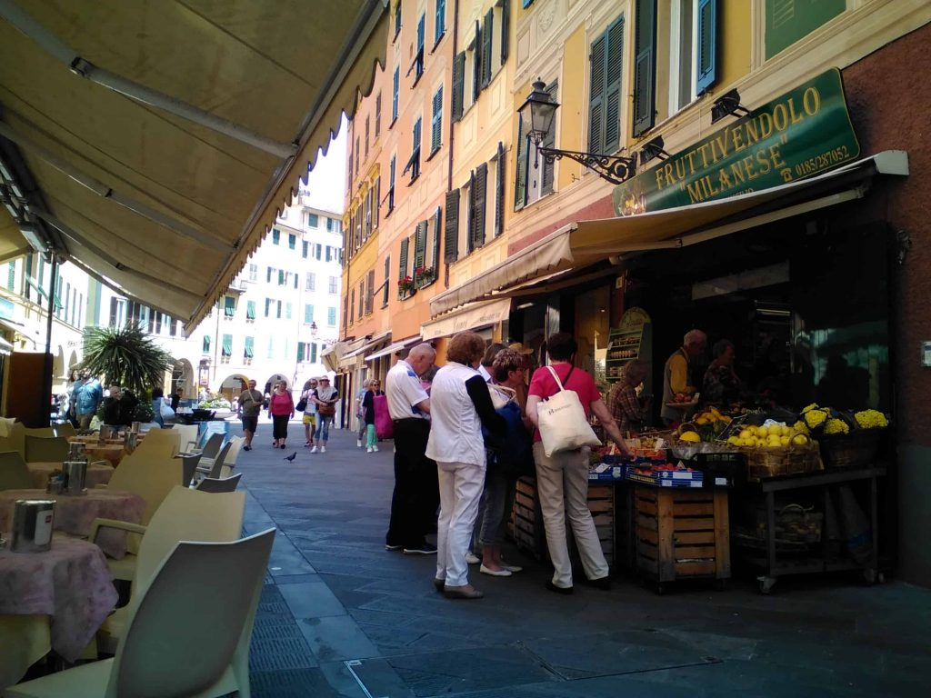 Old town, Santa Margherita Ligure, Italy