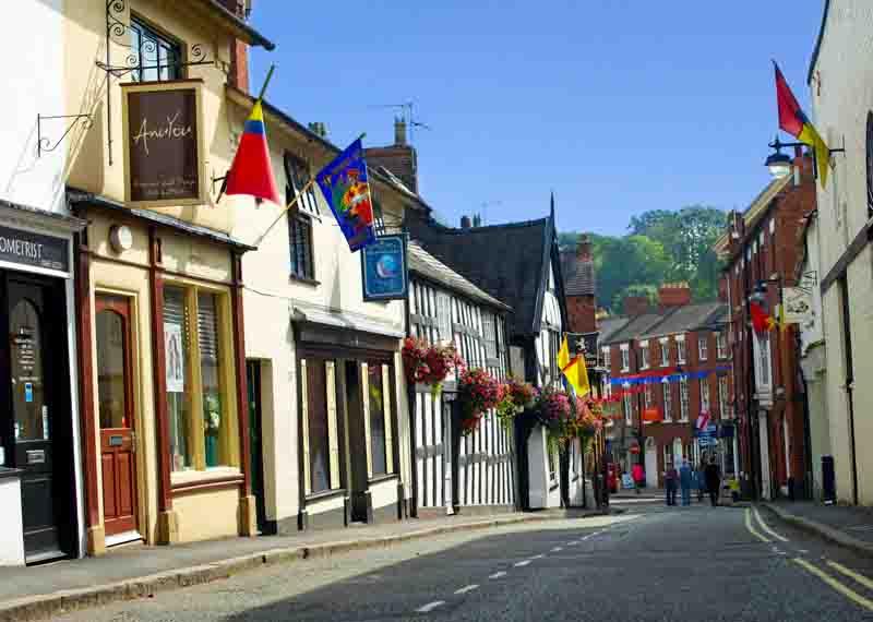 Ellesmere, Shropshire, UK