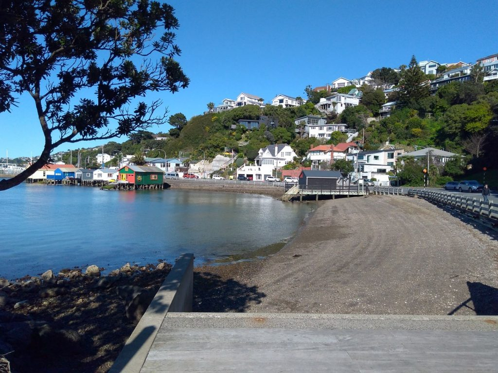 Hataitai Beach Wellington