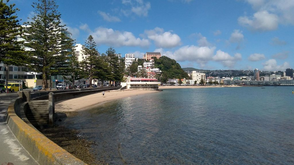 Oriental Bay beach, Wellington