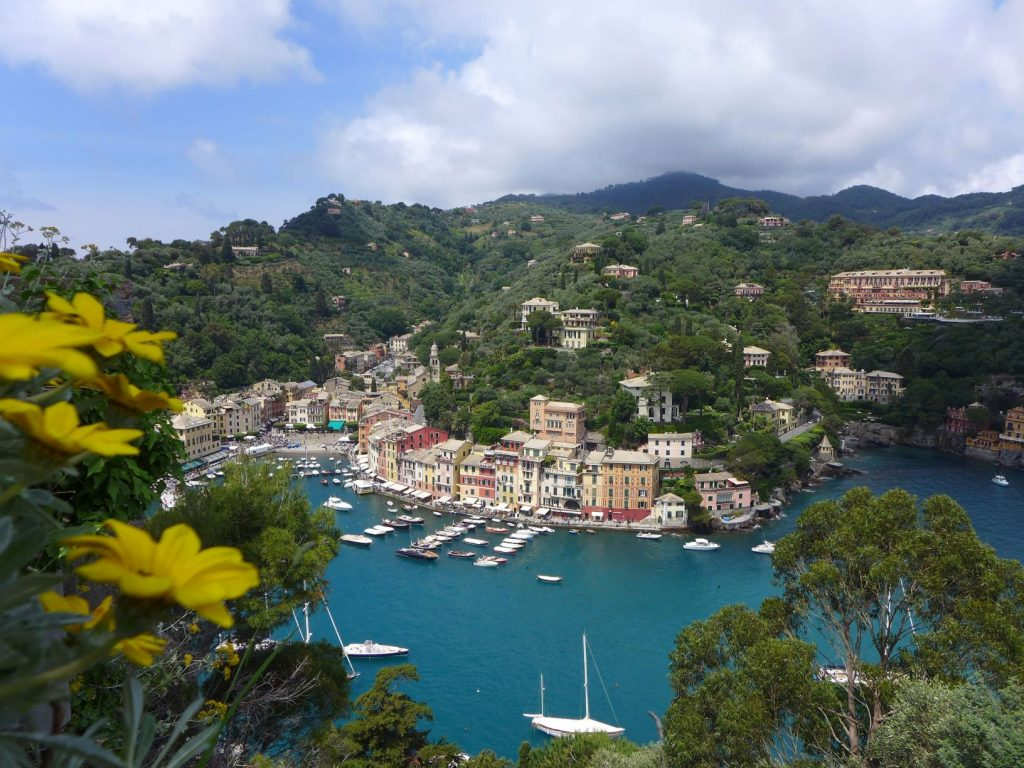 Portofino from Castello Brown