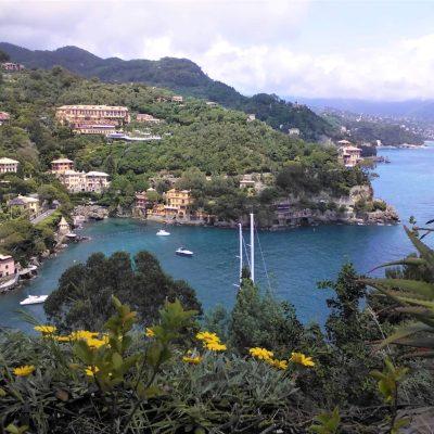 Coast of Liguria Italy