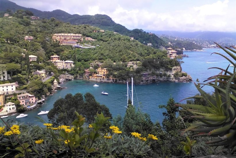 Coast of Liguria Italy