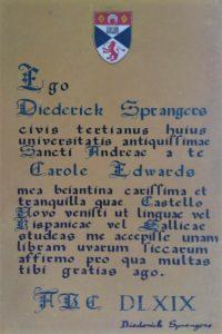 Latin parchment receipt