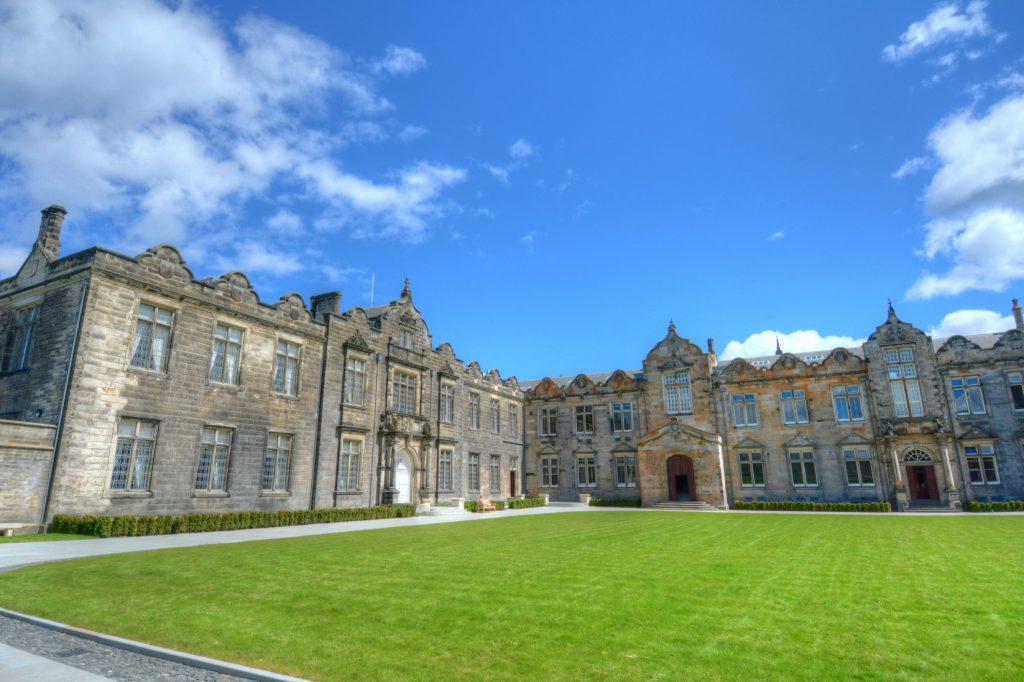 St Salvator's Quadrangle at St Andrews University