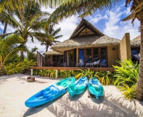 Rumours of Romance villa, Cook Islands - this would be my top choice for travel in 2021