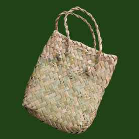 Kete - woven presentation bag for jewellery