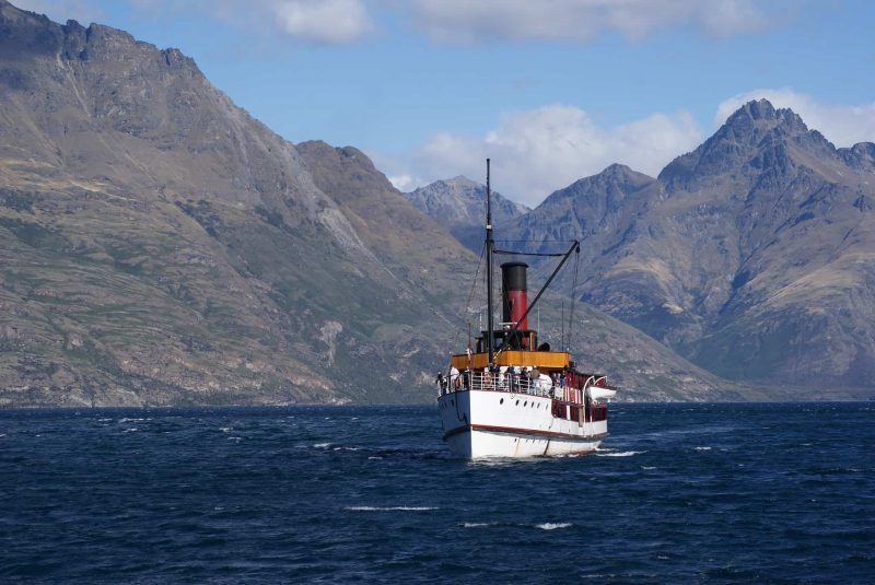 A trip aboard TSS Earnslaw on Lake Wakatipu is one of the great activities in Queenstown
