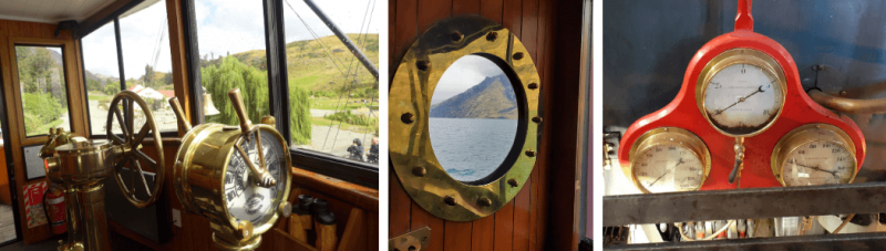 TSS Earnslaw original features - a great activity in Queenstown is to take a trip on the lake