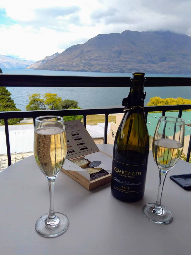 Wine and chocolate from Queenstown