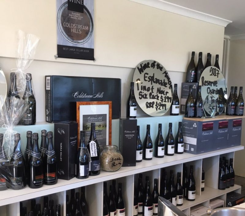Cellar Door at Coldstream Hills winery - a great stop if you're wine touring in Victoria