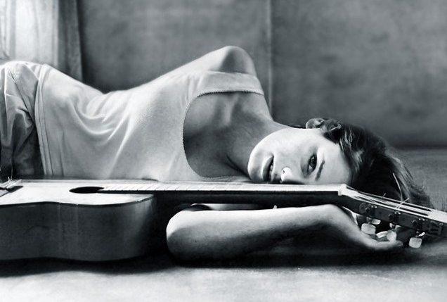 French singer Carla Bruni