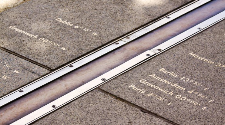 The Meridian line at Greenwich London