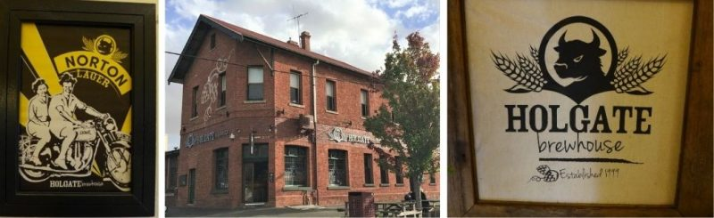 Holgate Brewhouse pub and taproom in Woodend Victoria Australia