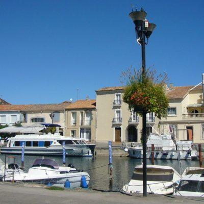 The port of Marseillan France