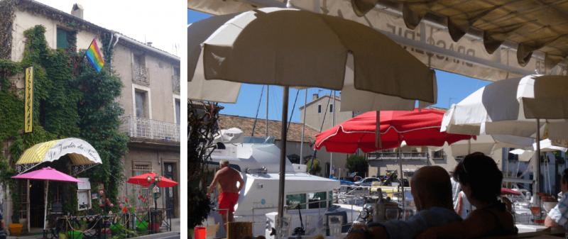 Restaurants in Marseillan France