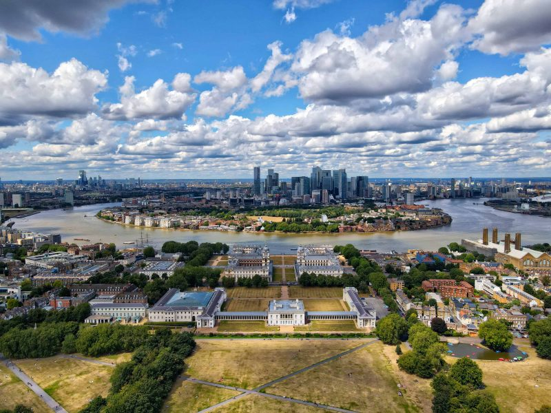 South Thames - the river at Greenwich, London