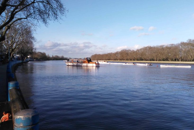 South Thames - the river at Putney, London
