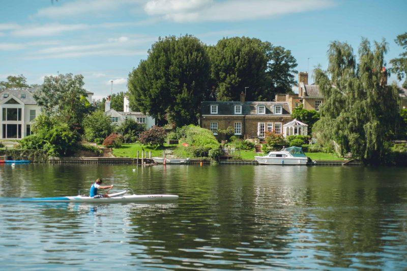 South Thames - rowers near Kingston